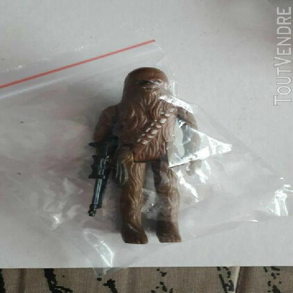 "Figurine star wars ""chewbacca"" 1977 kenner avec arme"