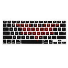 motif du clavier virtuel de couverture de silicone cas