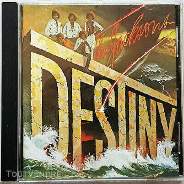 "The jacksons ""destiny"" (cd)"