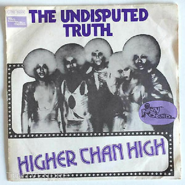 The undisputed truth / higher than high - vinyl 2 titres 45