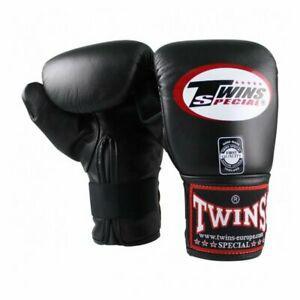 2 gants de boxe de sac twins special - taille l - noir neuf