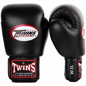 2 gants de boxe twins special 12 oz - noir neuf destocke