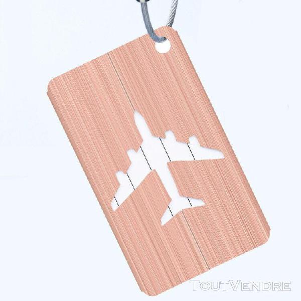 aluminium etiquettes de bagages Étiquette valise nom