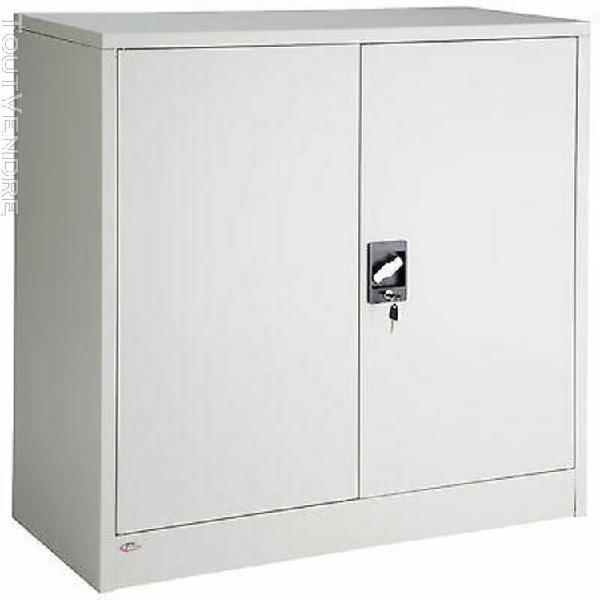 Armoire de rangement metallique meuble de bureau armoire-fic