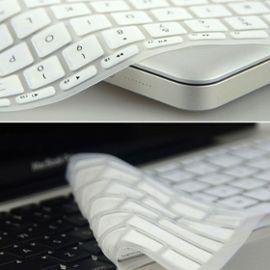 clavier en silicone couverture de peau pour apple macbook