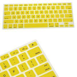 clavier en silicone couverture de peau pour apple macbook