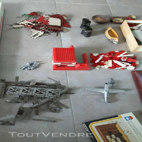Gros lot jeux jouets anciens