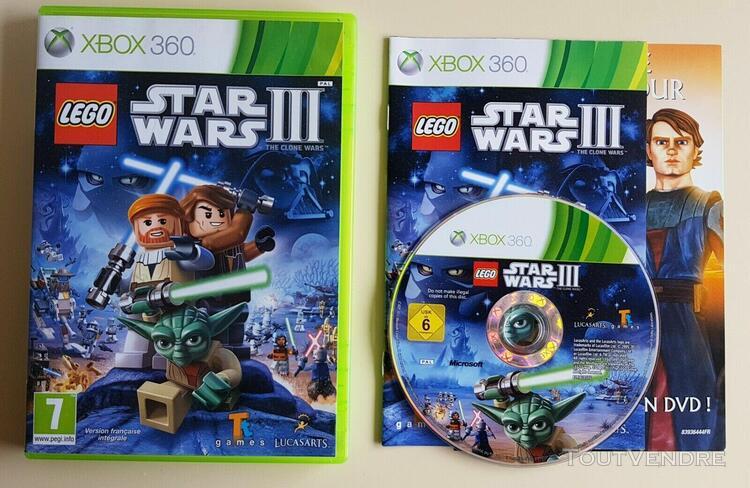 Lego star wars iii the clone wars - jeu microsoft xbox 360