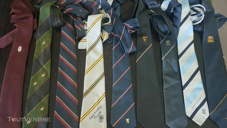 Lot 20 cravate fédé ffr region provence auvergne... comite