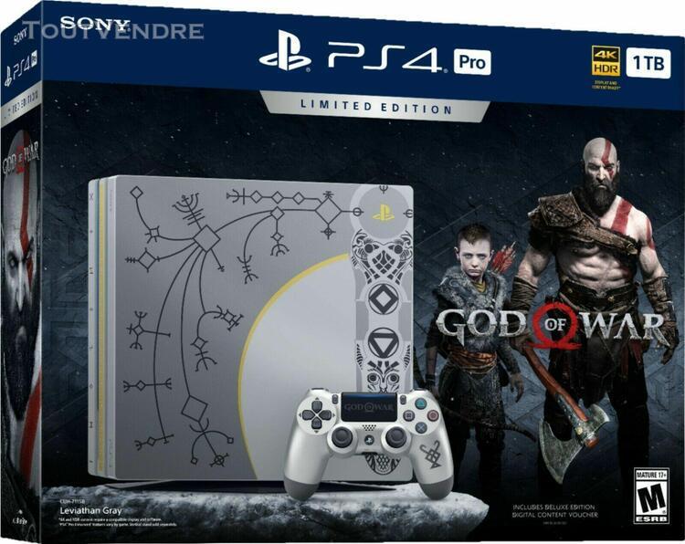 Playstation 4 pro édition god of war