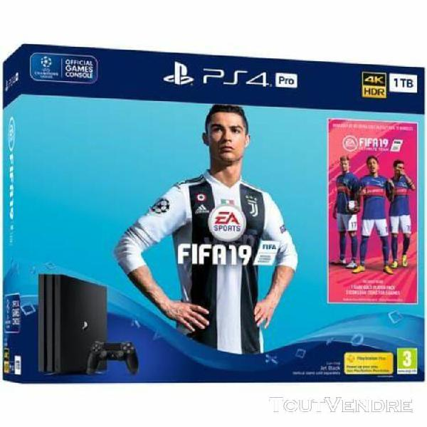 Sony playstation 4 pro 1 to + fifa 19