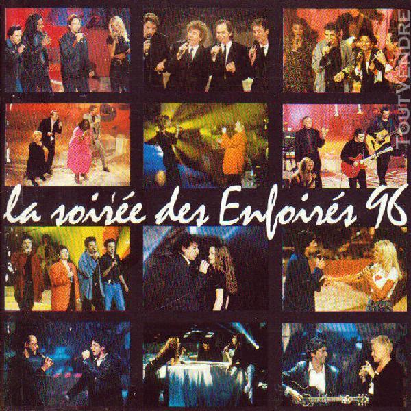 Cd audio.../...la soiree des enfoires 96.../...1996.....