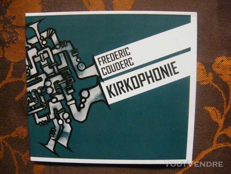 Cd frederic couderc - kirkophonie (hommage à roland kirk) /