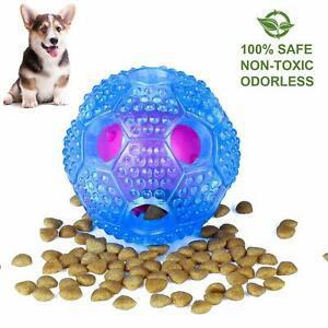 Jouet chien balle indestructible,jouet interactif pour chien