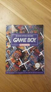 Le guide officiel des jeux game boy nintendo collector rare