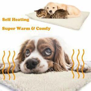 onebarleycorn - tapis de lit auto chauffant pour animaux de