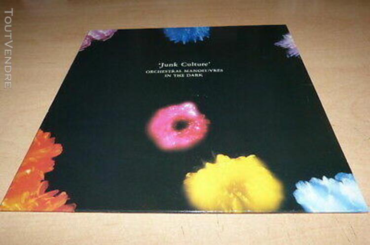 Orchestral manoeuvre in the dark - junk culture!!!rare vinyl