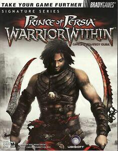 Prince of persia warrior within official strategy guide