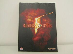 Resident evil 5 le guide officiel complet (français)
