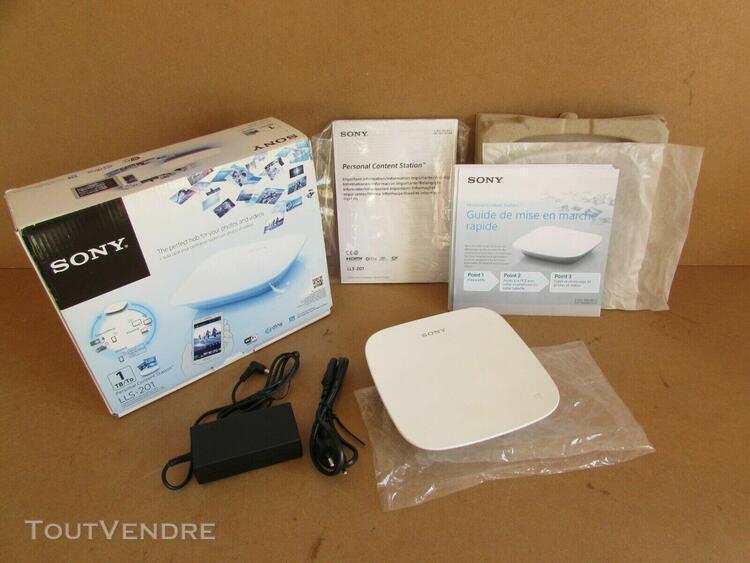 Sony personal content station lls-201 - récepteur