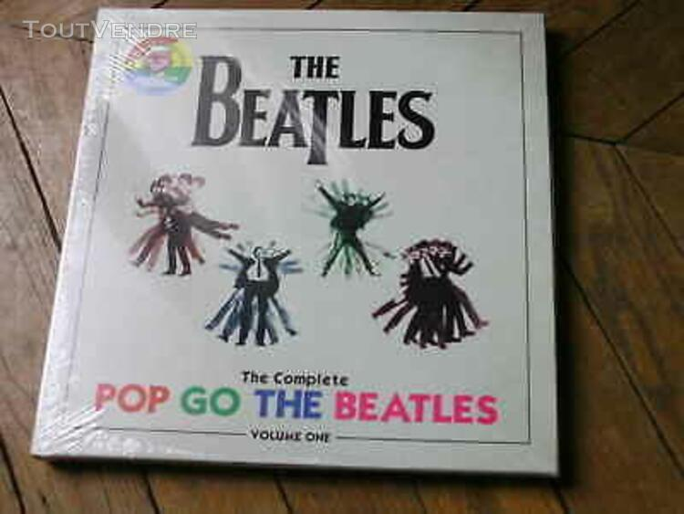 The beatles the complete pop go box 4lp demos studio 500 co