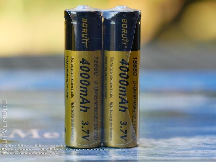 batteries 18650 3.7v-4000ma