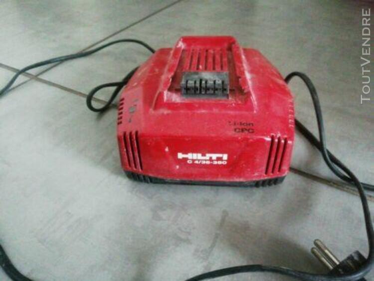HILTI C4//36-350 chargeur Lion CPC TBE