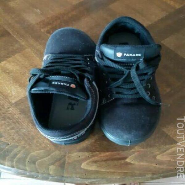 chaussures de sécurité femmes noire taille 36