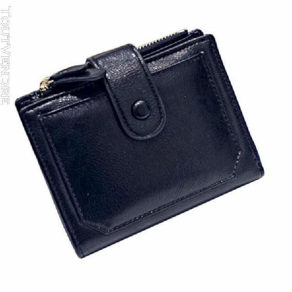 Femmes porte-monnaie court wallet sacs à main porte-cartes