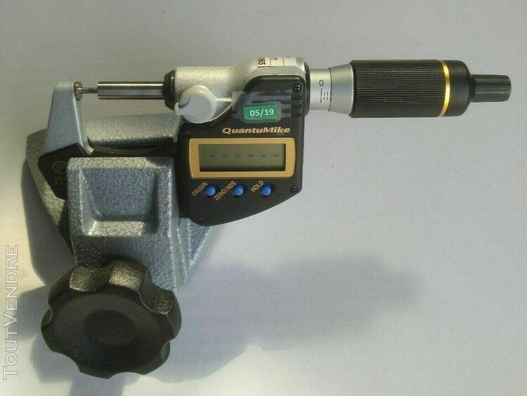 micrometre 293-140 avec support mitutoyo 156-105-10