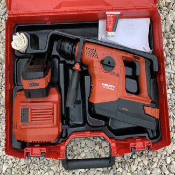 perforateur /burineur sans fil hilti te30a36 2 batteries 5,