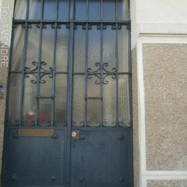 Porte de maison en fer forgé èpoque 30