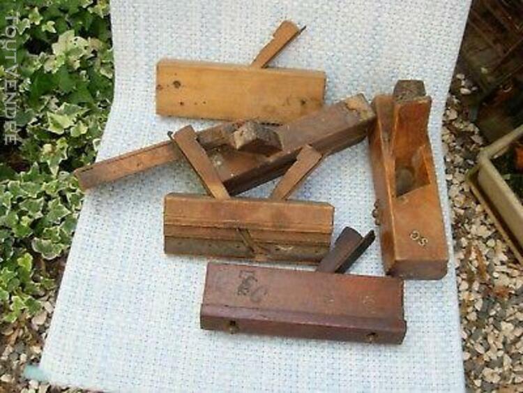 rabot à moulure feuillure en bois réglage butée outil