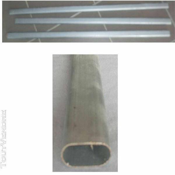tube penderie oval gris