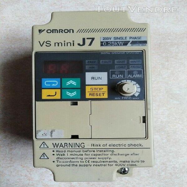 variateur de vitesse omron vs mini j7 - 0.25kw