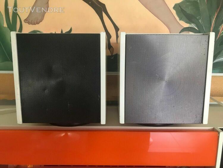 2 enceintes pour nordmende spectra futura / speakers vintage