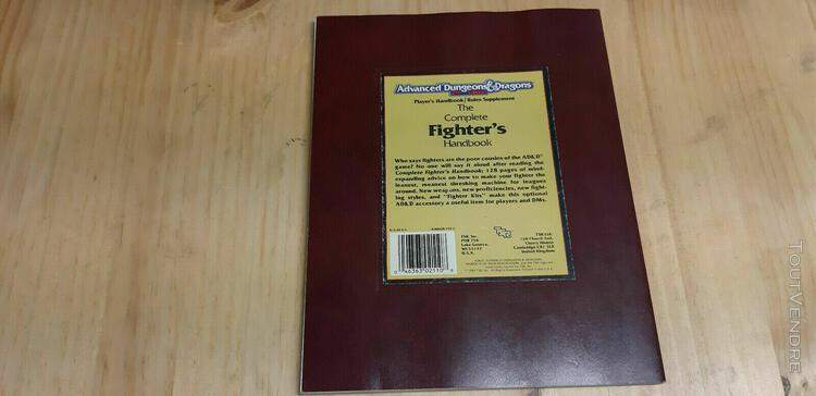 Ad&d - player's handbook rules supplement - the complete fig