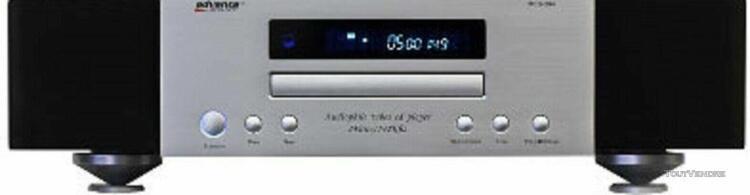 advance acoustic mcd 204 (préparé art) audiophile lecteur