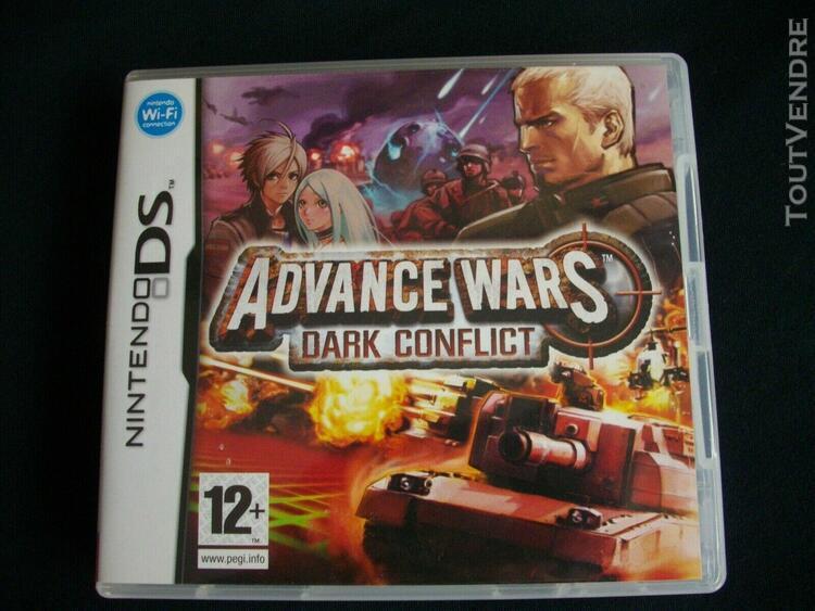 Advance wars dark conflict sur ds/3ds complet version