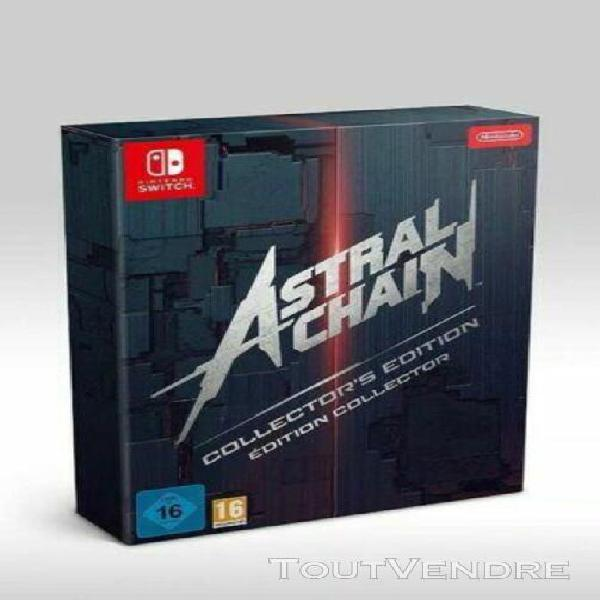Astral chain collector's edition switch eur version