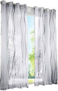 Bailey jo 1pièce rideau voilage photique lxh/140x225cm avec