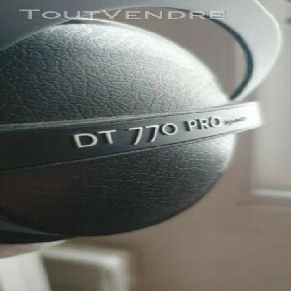 beyerdynamic - casque dt 770 pro - 250 ohm