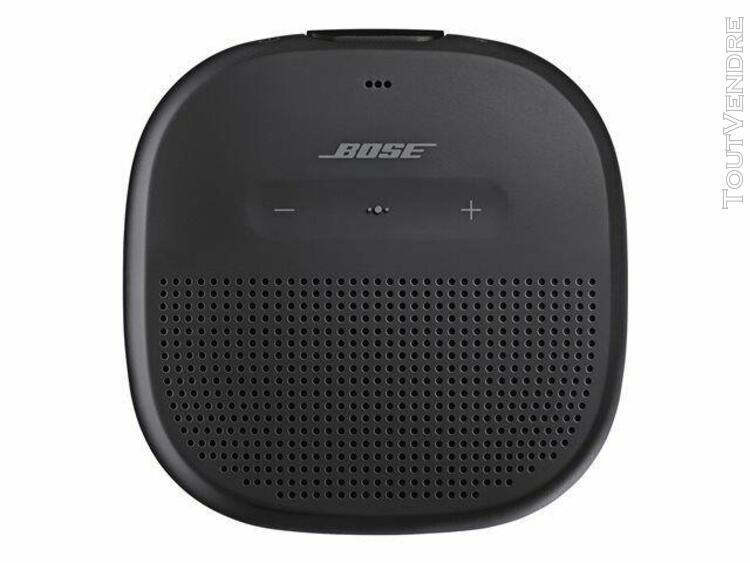 bose soundlink micro - enceinte sans fil bluetooth - noir