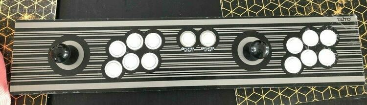 Control panel 2 players taito vewlix - comme neuf