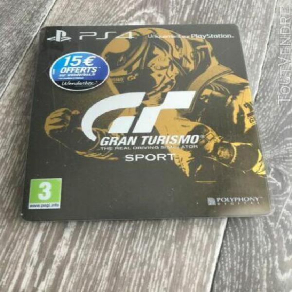 Gran turismo sport edition spéciale (steelbook+jeux) vf com