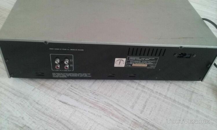 kenwood lecteur cassette courroie cassee au niveau moteur