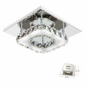 Lampe de plafond en cristal lampe de plafond moderne lustre