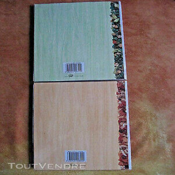 Lot 2 albums photo carte postale 10x15 classement 128 photos