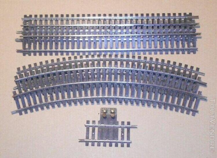 Lot de 3 Rail Droit 4851-1 coupure 0 prise 123 mm Voie JOUEF HO Neuf