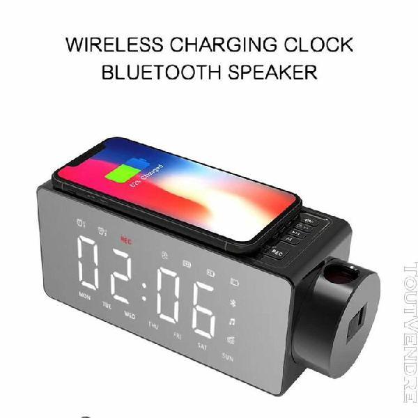 nouveau téléphone portable chargeur sans fil haut-parleur